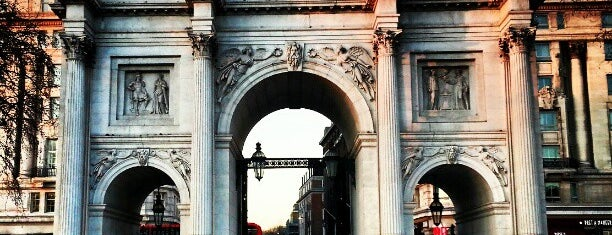 Marble Arch is one of London | لندن.