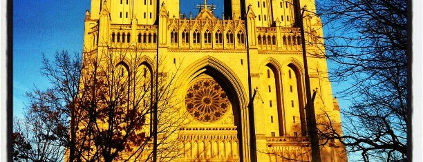 Washington National Cathedral is one of DC Bucket List.