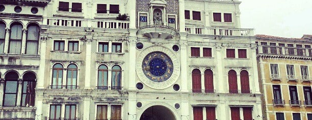 Torre dell'Orologio / Clock Tower is one of Venice.