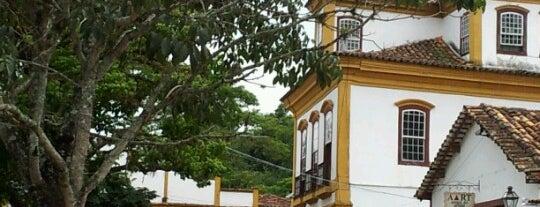 Largo das Forras is one of Tiradentes.
