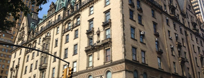 The Dakota is one of Places in NY.
