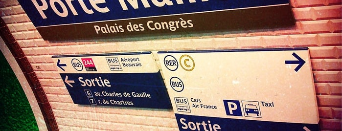 Métro Porte Maillot [1] is one of Went before.