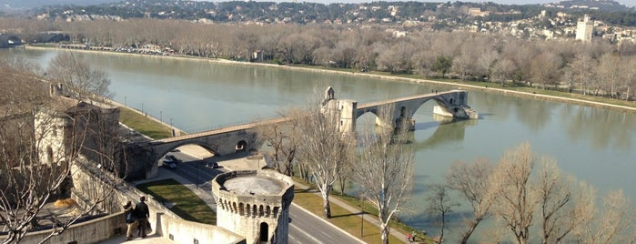 Rocher des Doms is one of Avignon, France.