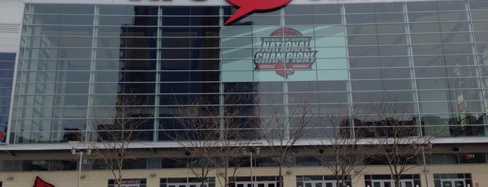 KFC Yum! Center is one of Sporting Venues....