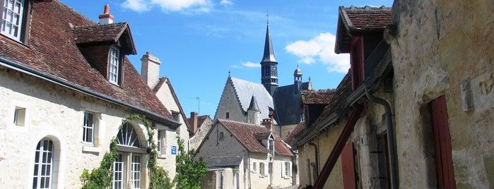Montrésor is one of Les plus beaux villages de France.