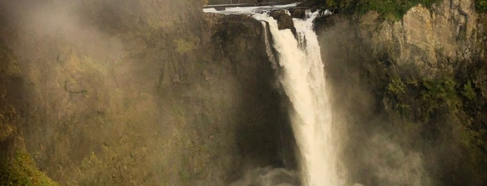Snoqualmie Falls is one of สถานที่ที่ Krzysztof ถูกใจ.
