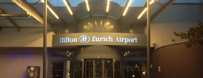 Hilton Zurich Airport is one of Gust's World Spots.