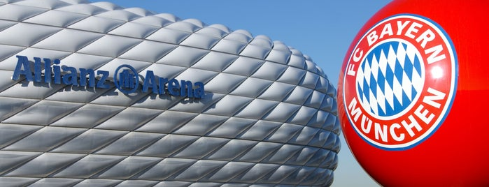 Allianz Arena is one of Sightseeing in Munich.