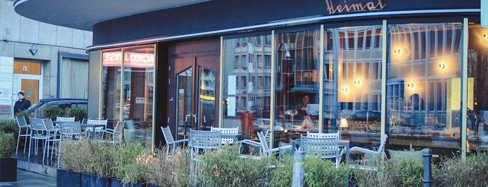 Heimat – Essen und Weine is one of Cafés and restaurants in Frankfurt.