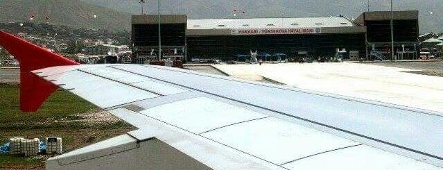 Hakkâri Yüksekova Selahaddin Eyyubi Havalimanı (YKO) is one of Ömer 님이 좋아한 장소.