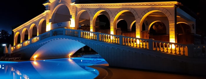 Venezia Palace Pool is one of สถานที่ที่ Hasibe ถูกใจ.