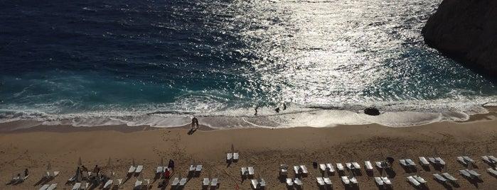 Kaputaş Plajı is one of Merve'nin Beğendiği Mekanlar.