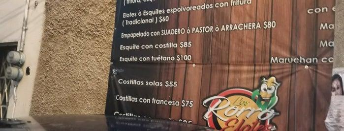 Los RorroElotes is one of Tacos y Antojitos.