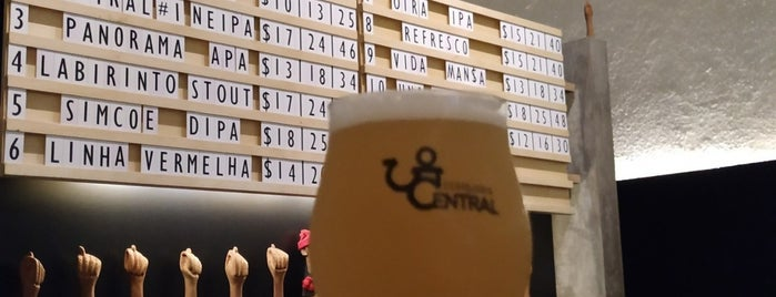 Cervejaria Central is one of Craft beer in São Paulo.