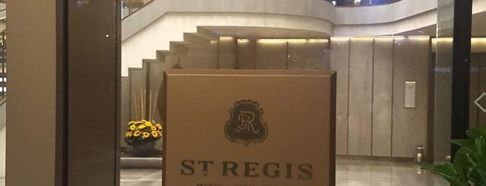 The St. Regis Macao, Cotai Central is one of Tempat yang Disukai SV.