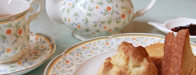 Angelic Tea & Scone House is one of Coffee, Tea or B.