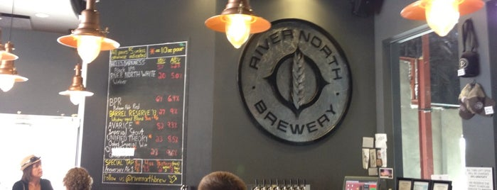 River North Brewery is one of Orte, die Ryan gefallen.
