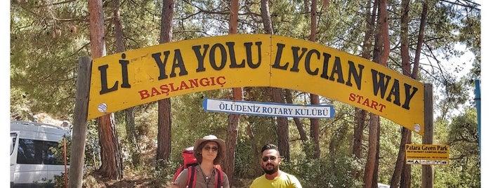 Likya Yolu | Lycian Way is one of Fethiye/Meğri ⛵️.