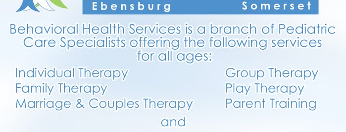Behavioral Health Services is one of Places I go.