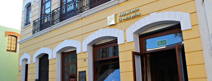 El Manzanillo Restaurante is one of Sitios 2016.