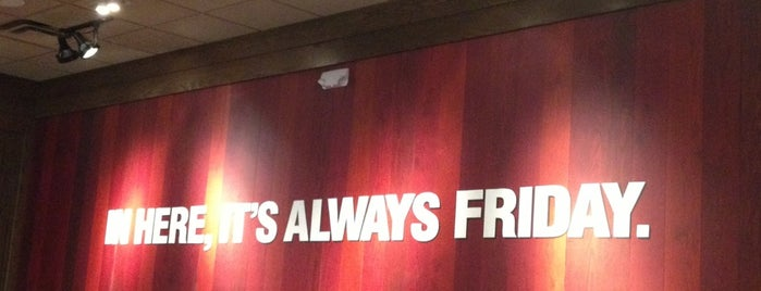 TGI Fridays is one of Cristina 님이 좋아한 장소.