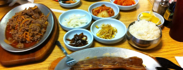 Chong's Korean Restaurant is one of Places I recommend.