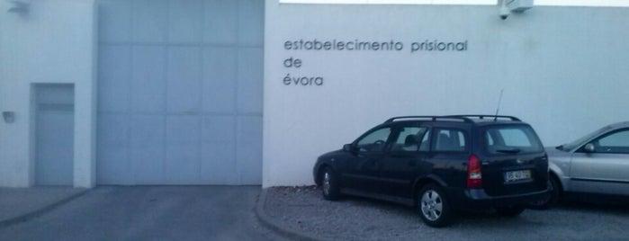 Estabelecimento Prisional de Évora is one of Pedro'nun Beğendiği Mekanlar.