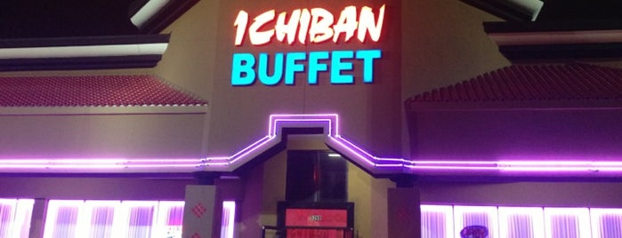 Ichiban Buffet is one of Dining in Orlando, FL part 2.