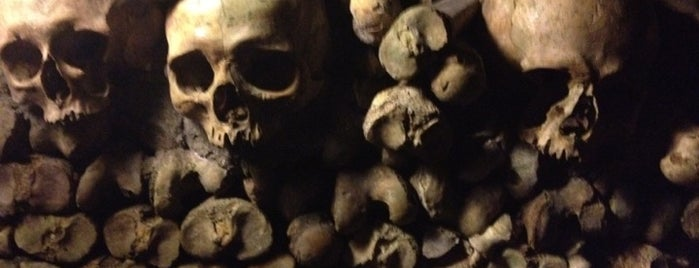Catacombes de Paris is one of France To Do.