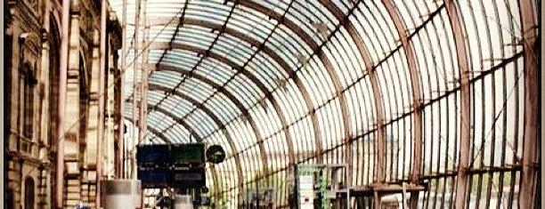 Вокзал Страсбург is one of Burak : понравившиеся места.