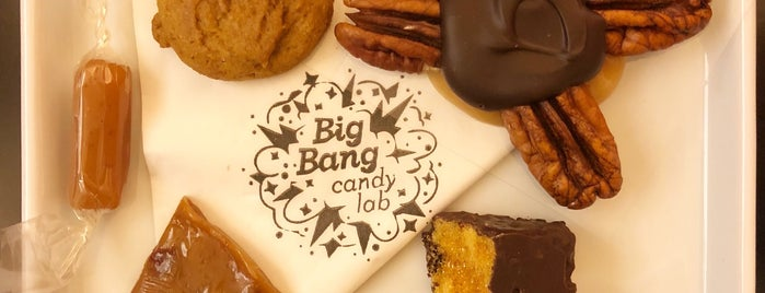 Big Bang Candy Lab is one of Café.