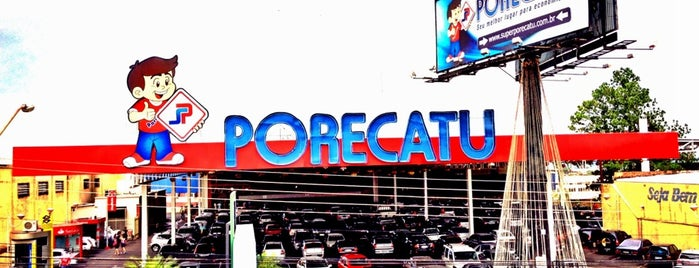 Supermercado Porecatu is one of Locais curtidos por Raphaël.
