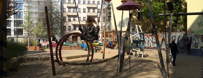 Spielplatz Rykestraße is one of Playgrounds in Berlin.