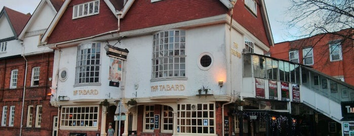 The Tabard is one of Good Beer Pubs.