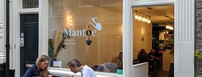 Mantoe is one of Favourite restaurants.