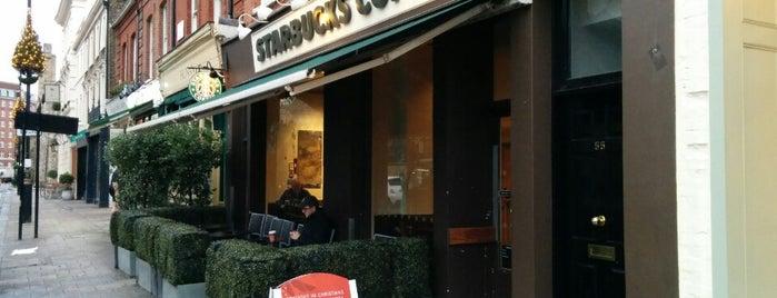 Starbucks is one of Tempat yang Disukai S.F.