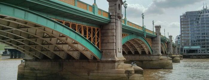 Southwark Bridge is one of London Cultural.