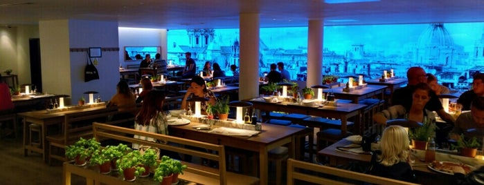 Vapiano is one of London.