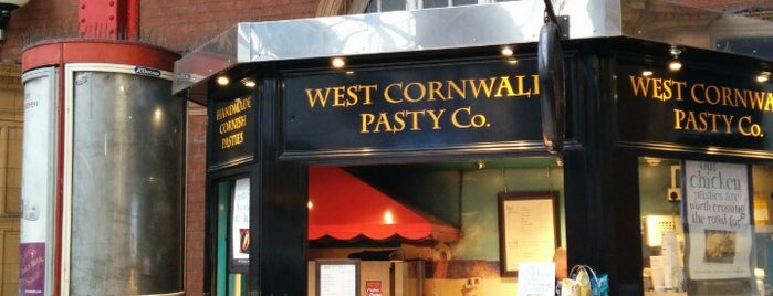 West Cornwall Pasty Co is one of London.