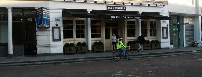 The Grill On The Market (Blackhouse) is one of London pubs.