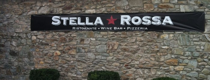 Stella Rossa Ristorante is one of Tempat yang Disukai Sorora.