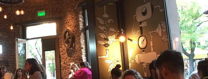 Padre Coffee Roasters & Beer is one of cafes.