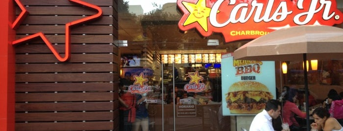 Carl's Jr. is one of Orte, die Fabiola gefallen.