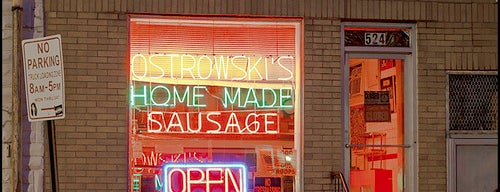 Ostrowski's Famous Polish Sausage is one of Baltimore.