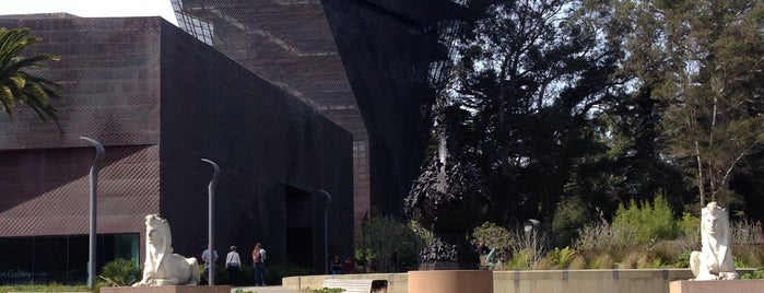 de Young Museum is one of SF places.