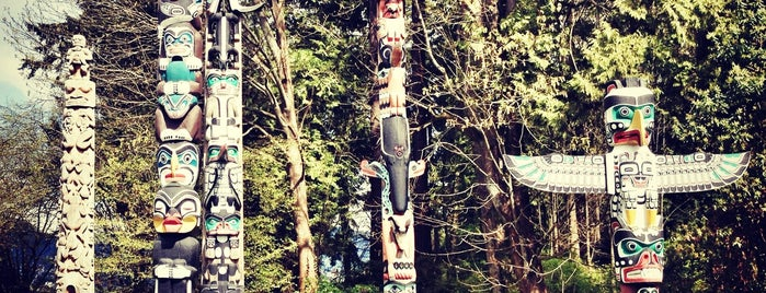Totem Poles in Stanley Park is one of Vancouverite - Best Places In and Around Vancouver.