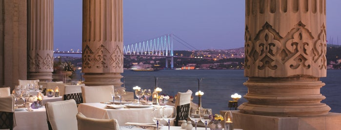 Tuğra Restaurant & Lounge is one of Yazin istanbul :).