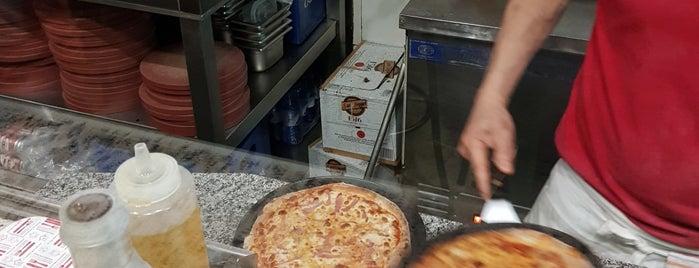 italianos y pizza