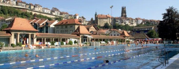 Bains de la Motta is one of Fribourg.