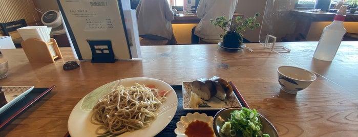 白ひげ蕎麦 is one of Lugares favoritos de 高井.